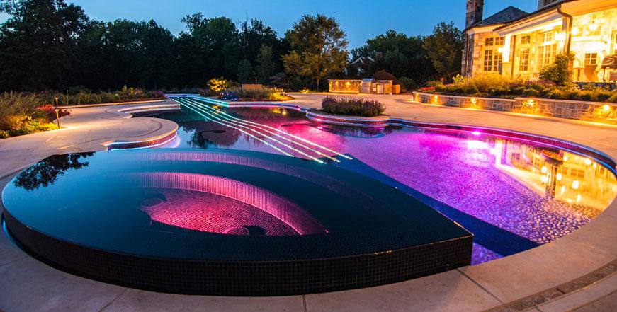 Pool Lighting - pH Balanced Pool Service