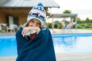 swimming pool temperature